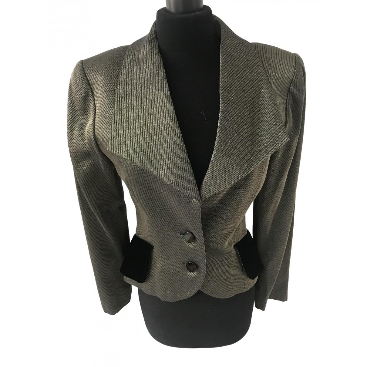 Lanvin - Veste   pour femme en laine - dore