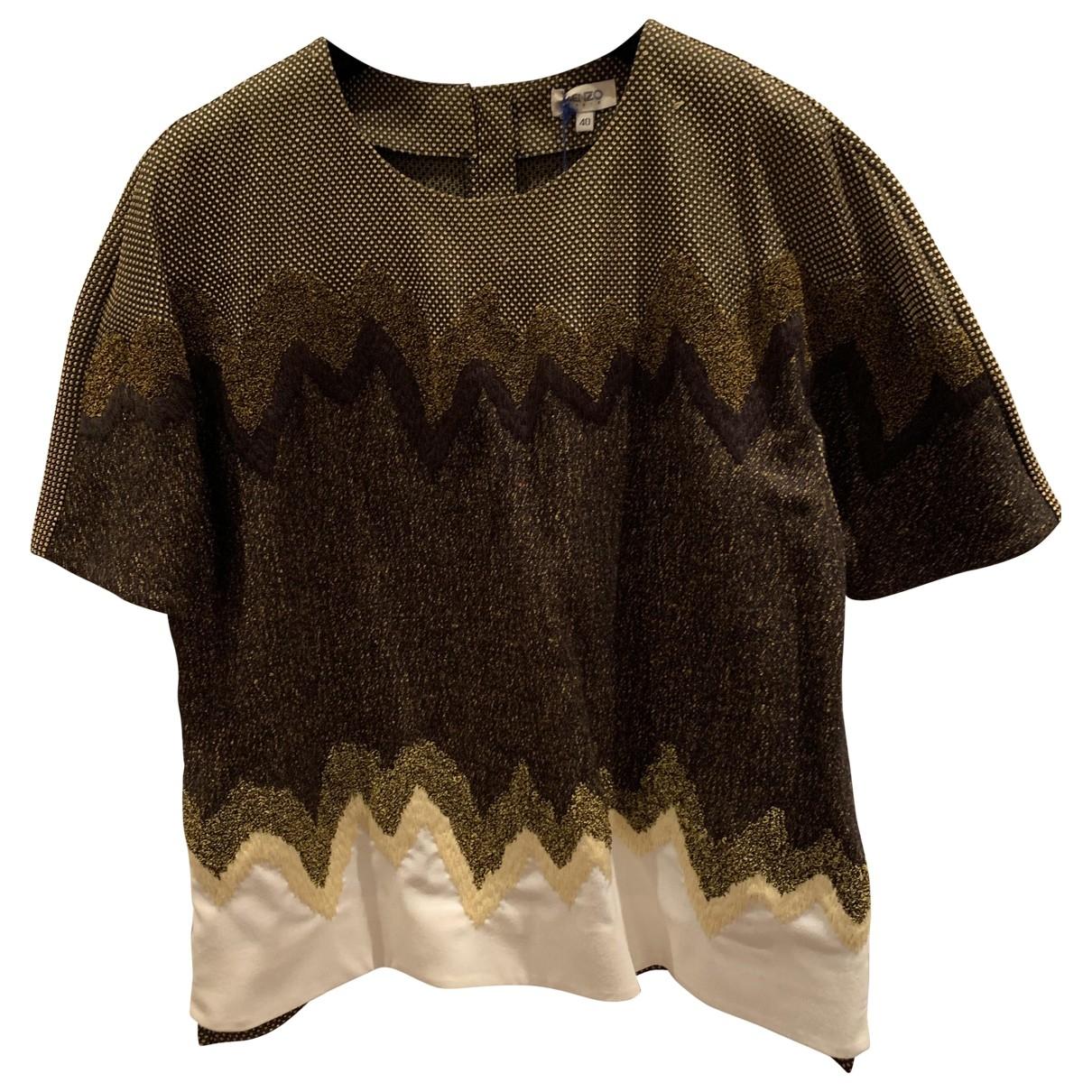 Kenzo \N Brown Cotton  top for Women 40 IT