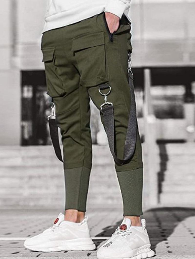 Ericdress Men's Slim Casual Pants