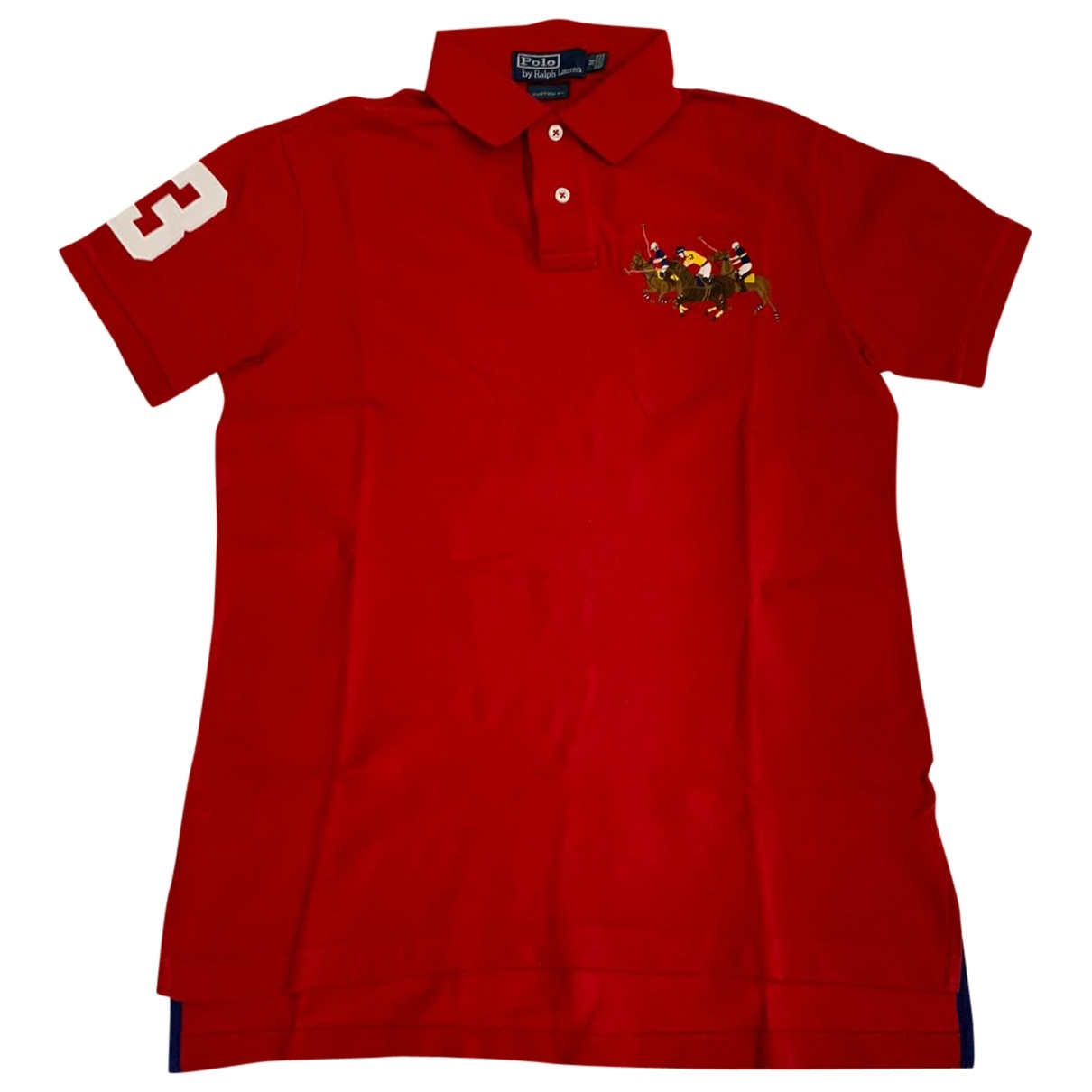 Polo Ralph Lauren Polo classique manches courtes Poloshirts in  Rot Baumwolle