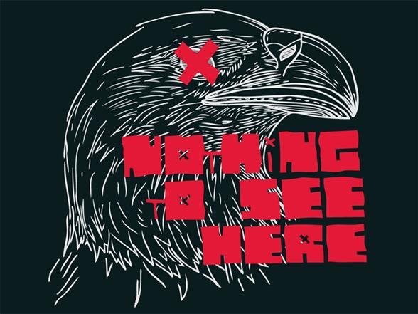Eagle Eye Crossed T Shirt