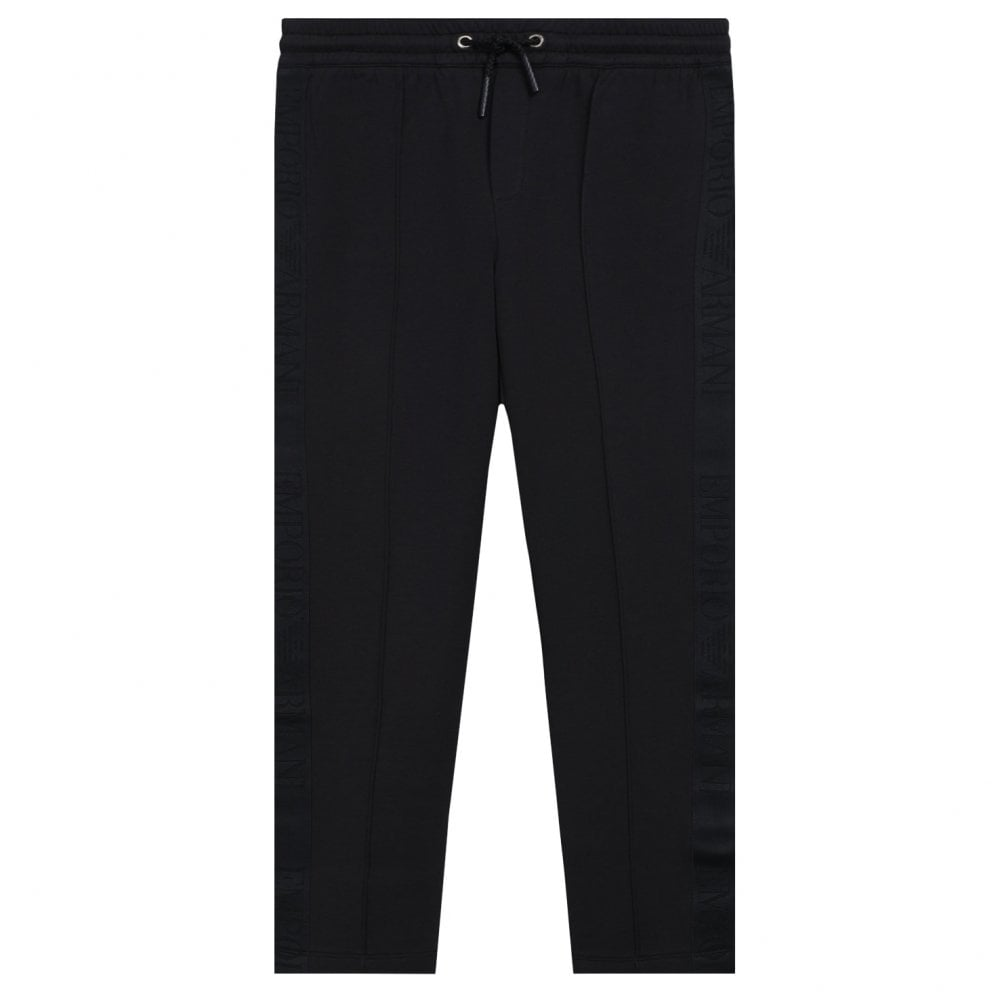 Emporio Armani Kids Joggers Colour: NAVY, Size: 4 YEARS