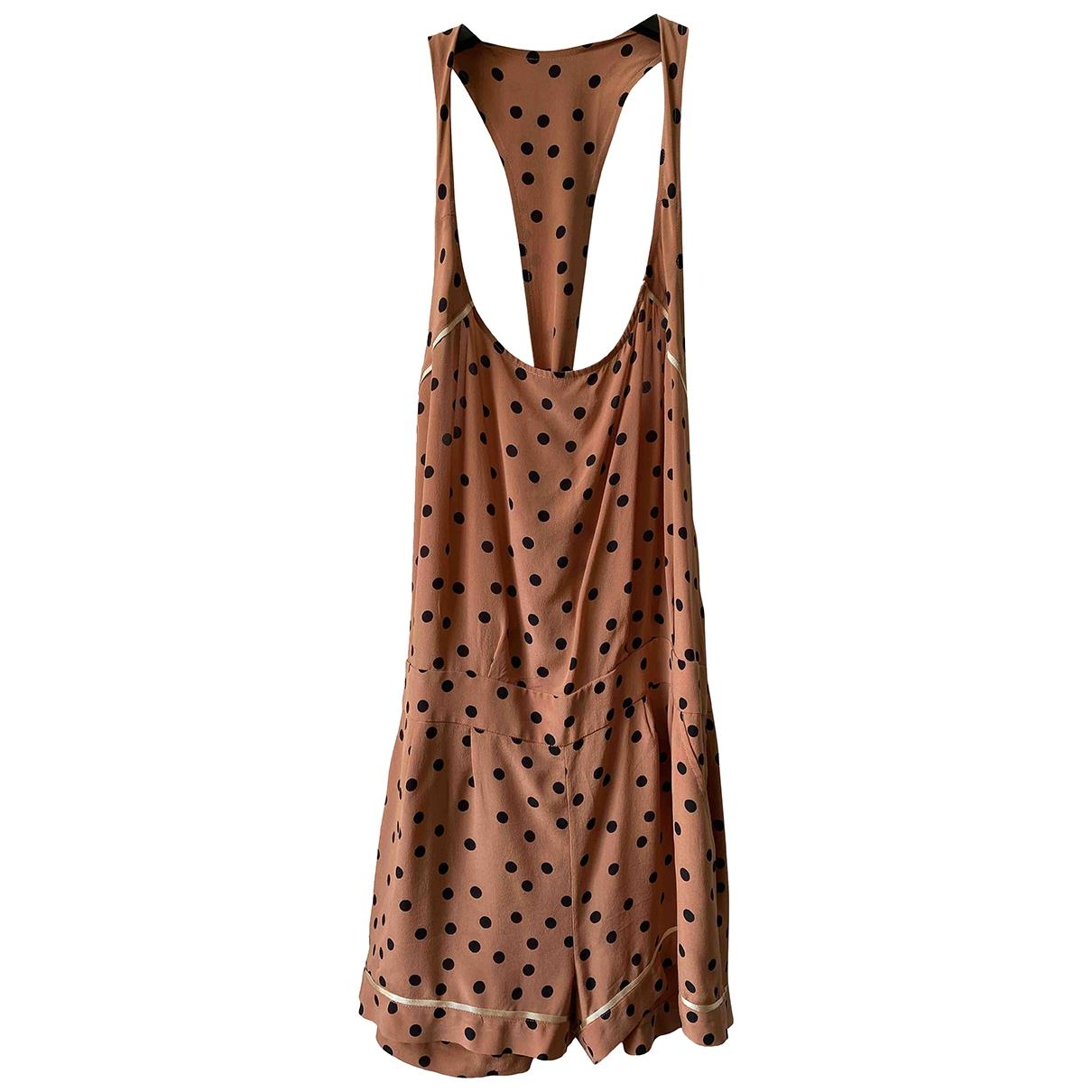 Jucca - Robe   pour femme en soie - rose