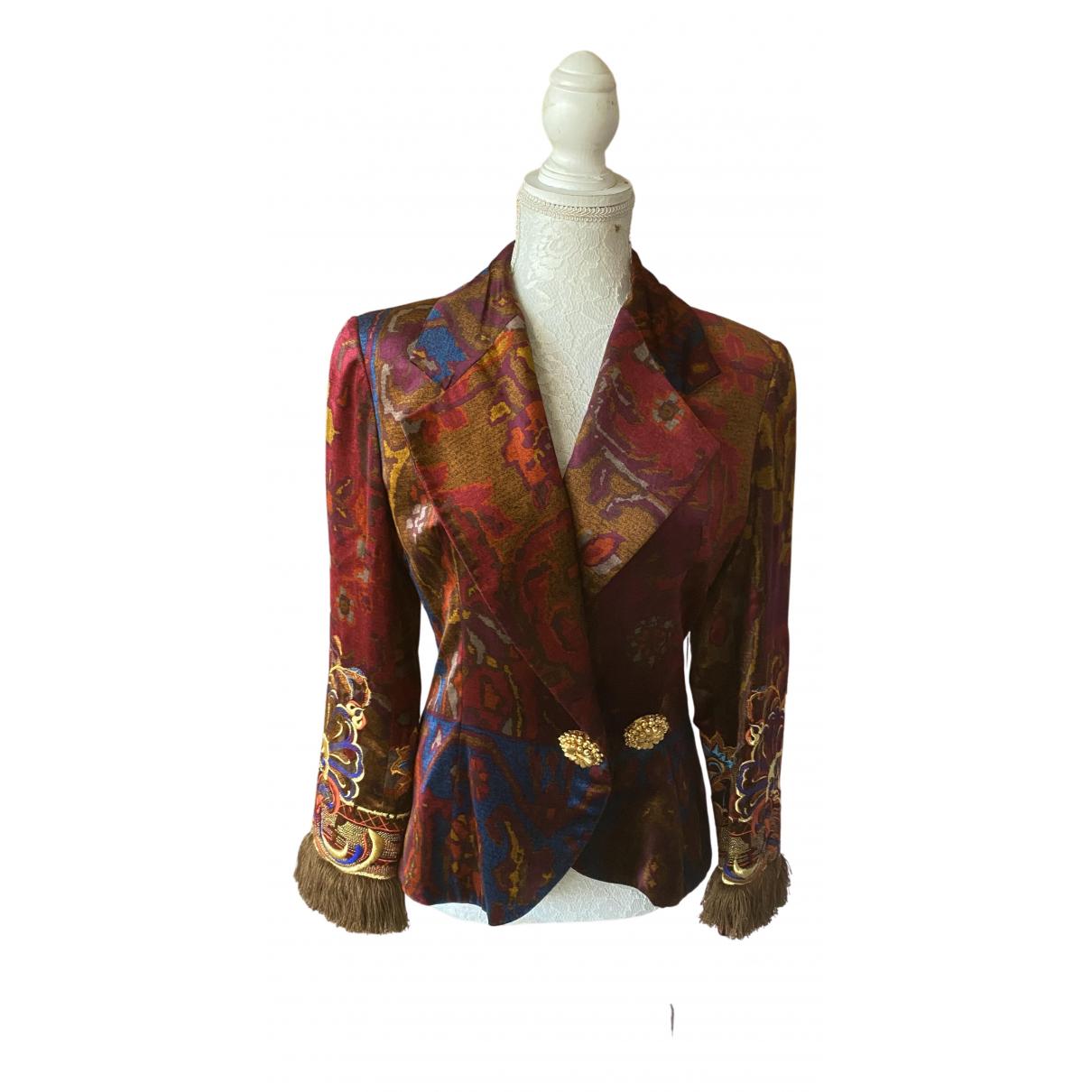 Dior - Veste   pour femme en velours - multicolore