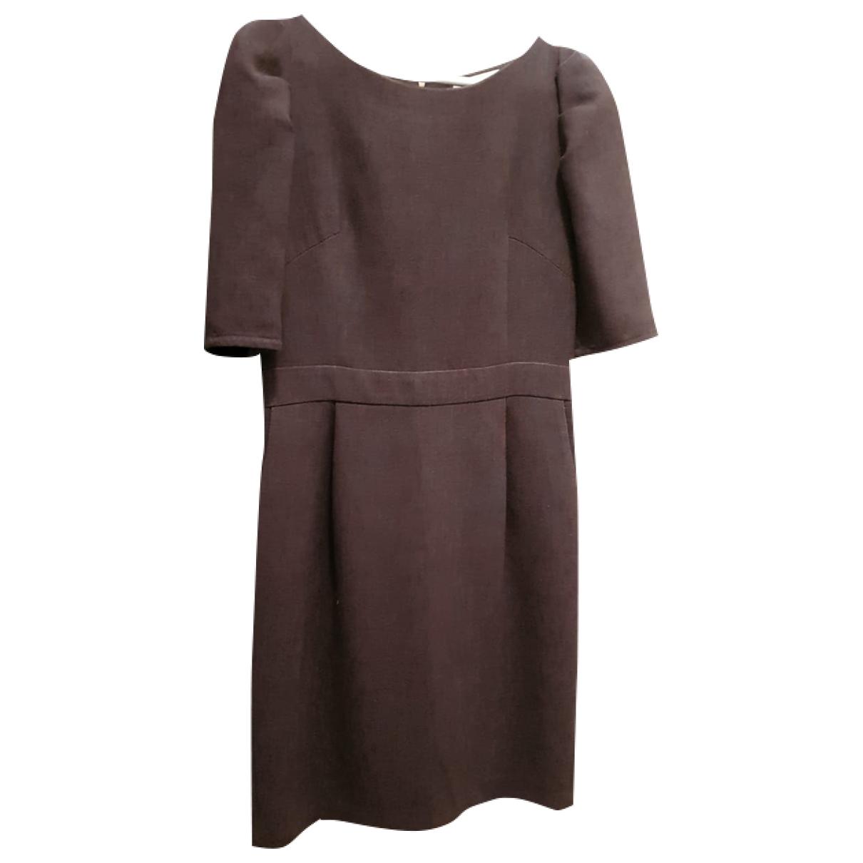 Sandro \N Grey Cotton dress for Women 40 FR