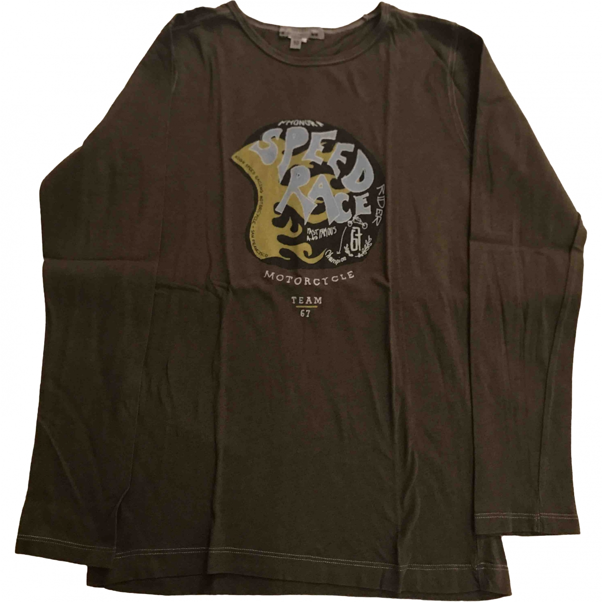 Bonpoint \N Grey Cotton  top for Kids 10 years - up to 142cm FR