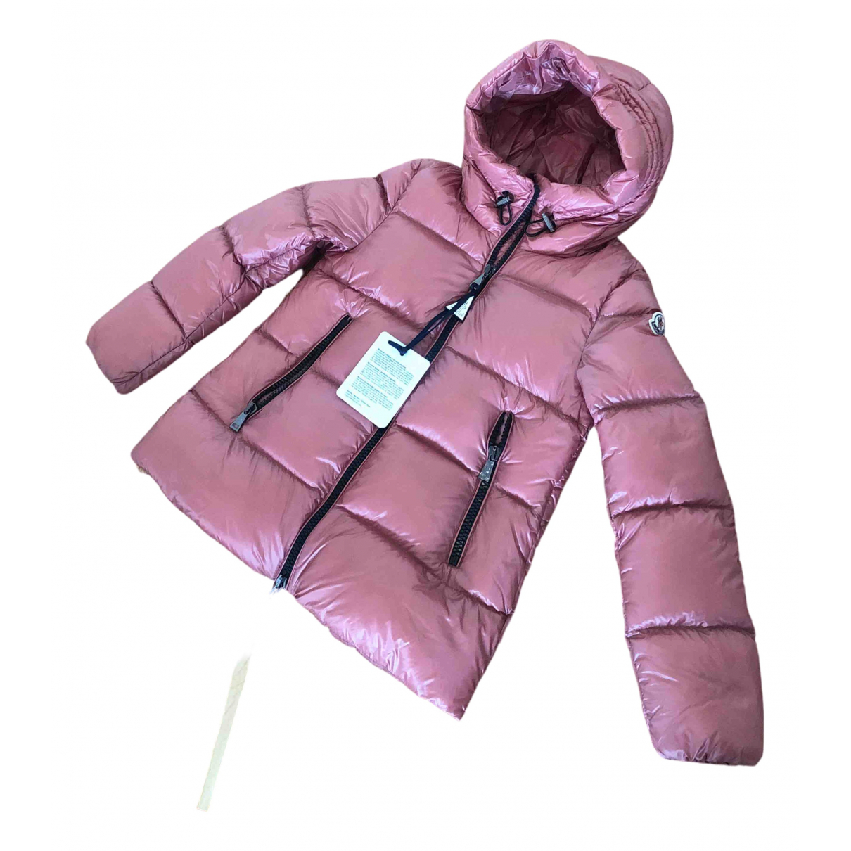 Moncler \N Maentel in  Rosa Synthetik