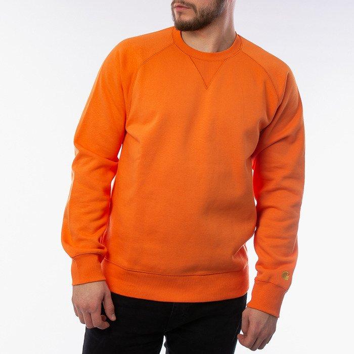 Carhartt WIP Chase Sweatshirt I026383 CLOCKWORK/GOLD