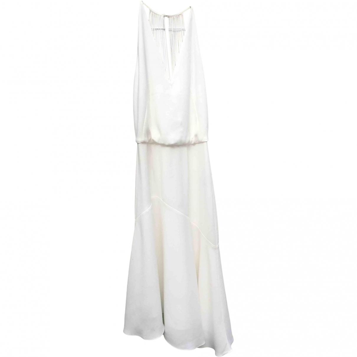 Reiss \N Kleid in  Weiss Polyester