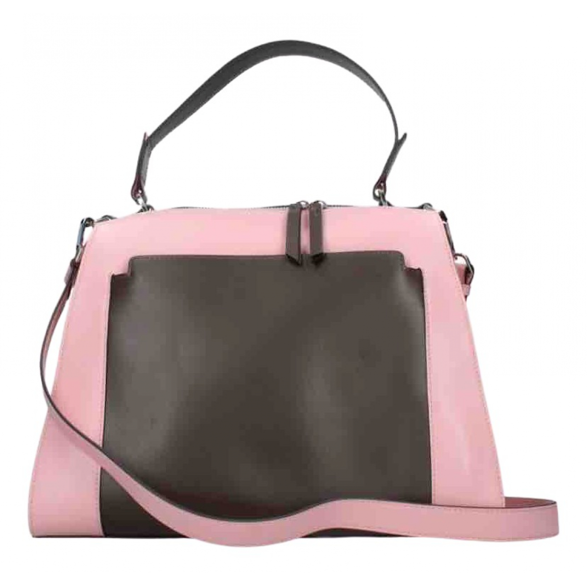 Piquadro \N Handtasche in  Rosa Leder