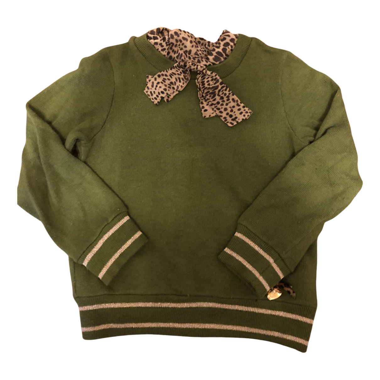 Roberto Cavalli N Green Cotton Knitwear for Kids 3 years - up to 98cm FR
