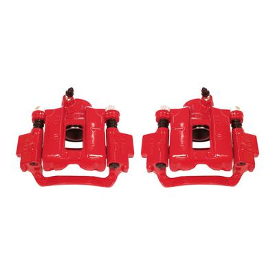 Power Stop Performance Powder Coated Calipers with Brackets - S2736