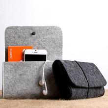1pc Fold Over Felt Storage Bag
