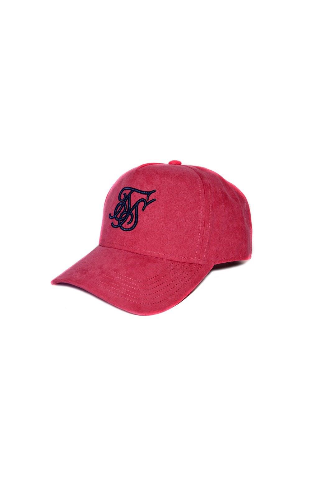 SikSilk Suede Trucker - Pink