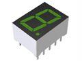 ROHM LAP-401MD  LED LED Display, CA Green 100 mcd RH DP 10.2mm (5)