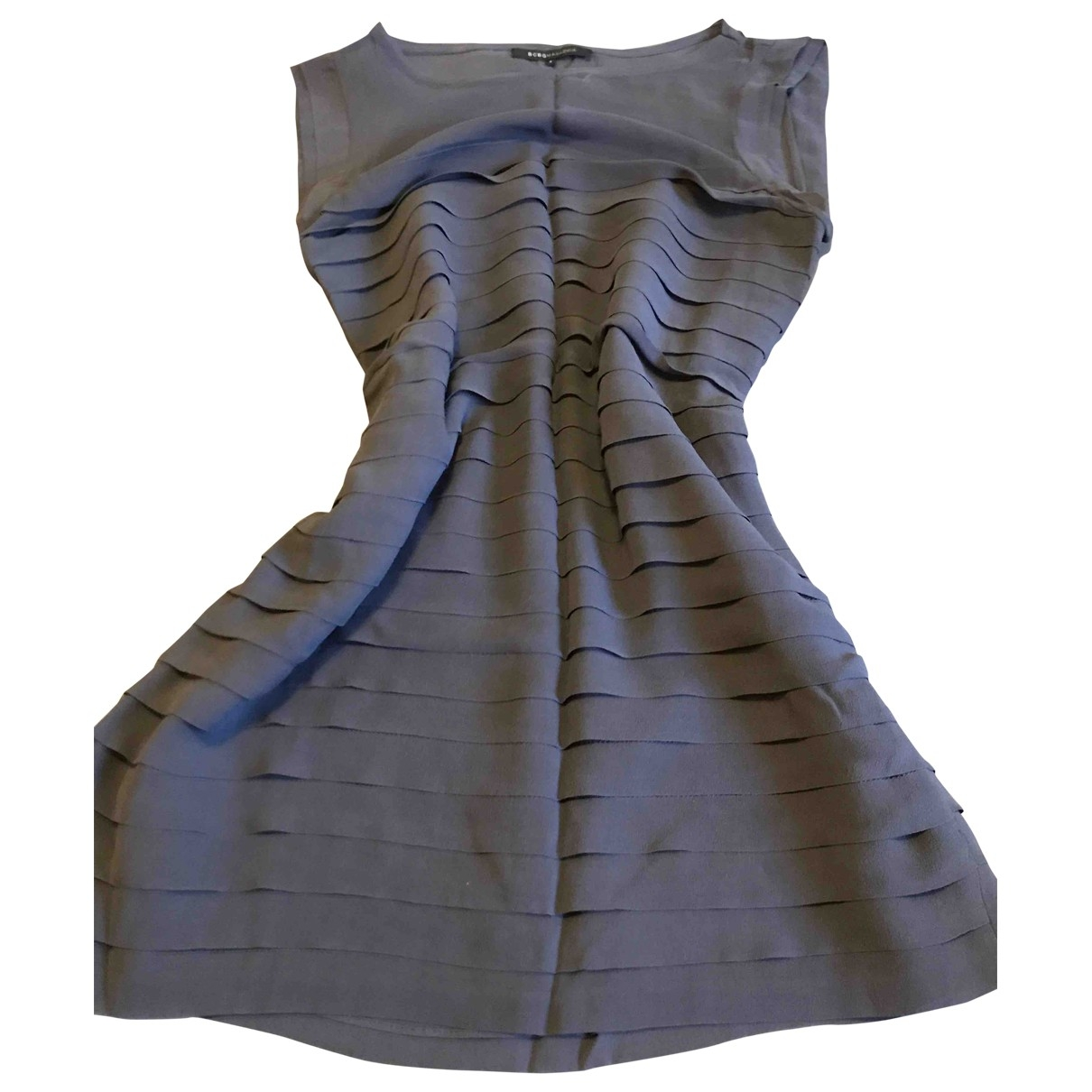Mini vestido de Seda Bcbg Max Azria