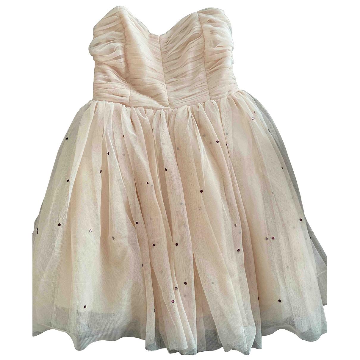 Zara \N Kleid in  Rosa Polyester