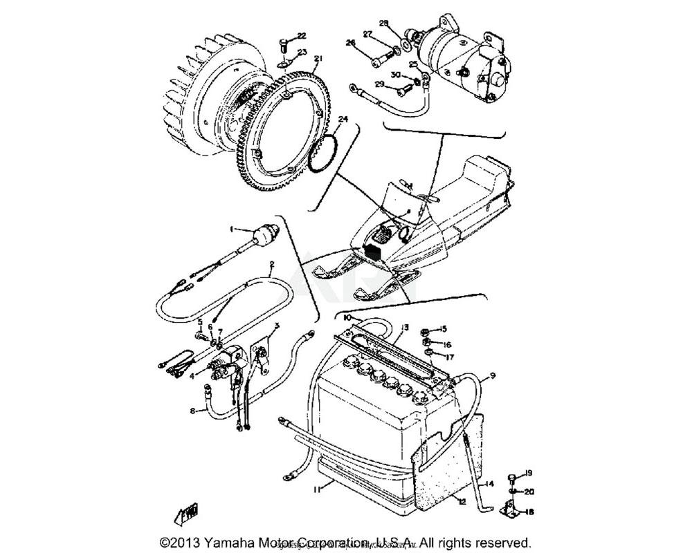 Yamaha OEM 98580-08020-00 SCREW PAN HEAD