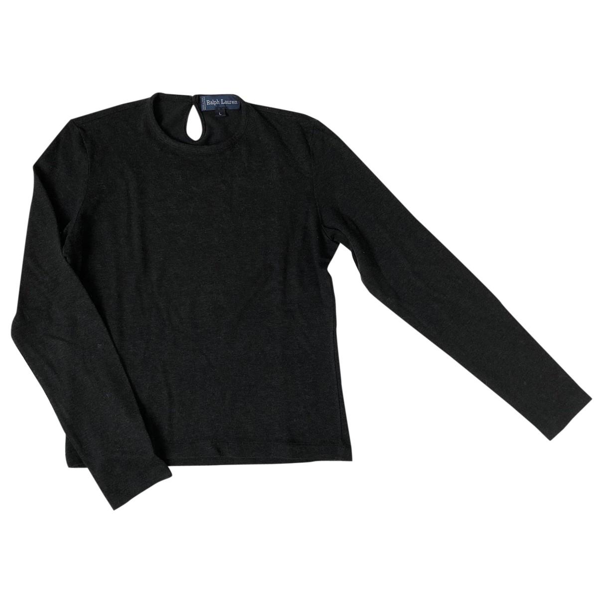 Ralph Lauren \N Grey Wool  top for Women L International