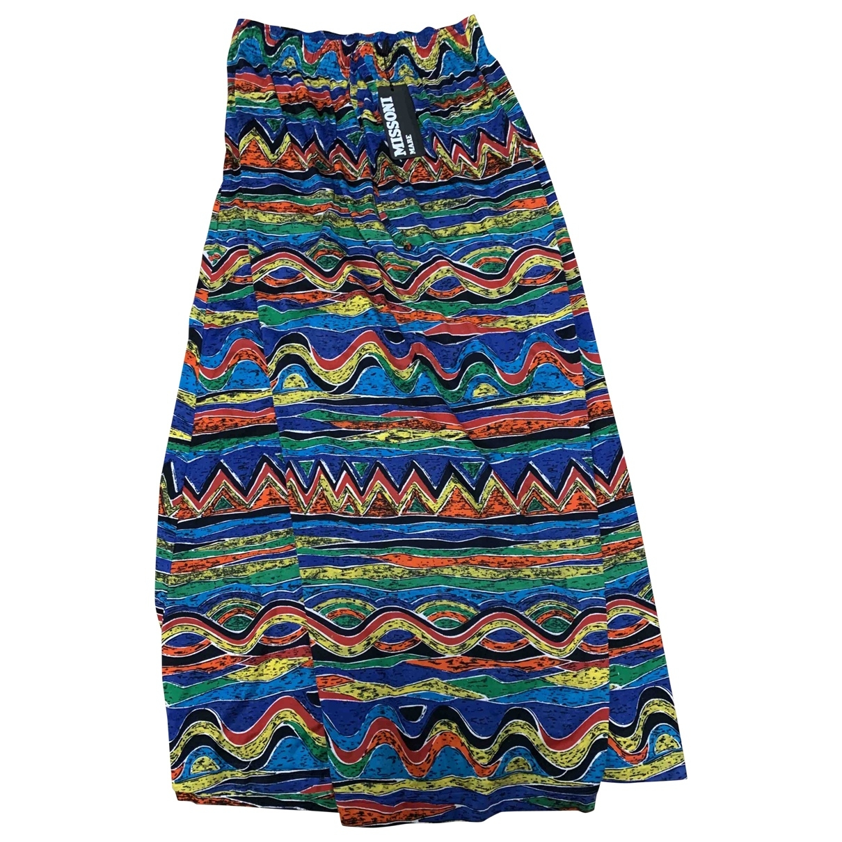 Missoni \N Multicolour Cotton skirt for Women 40 IT