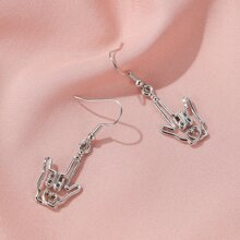 Hollow Out Hand Drop Earrings