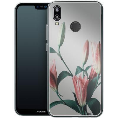 Huawei P20 Lite Silikon Handyhuelle - Blume von SONY