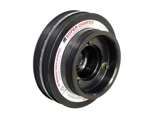 ATI 918040 Racing 6.325 Inch OD Aluminum 3 Ring 3.90lb Super Damper Kit Datsun 260Z L26 L28 70-78