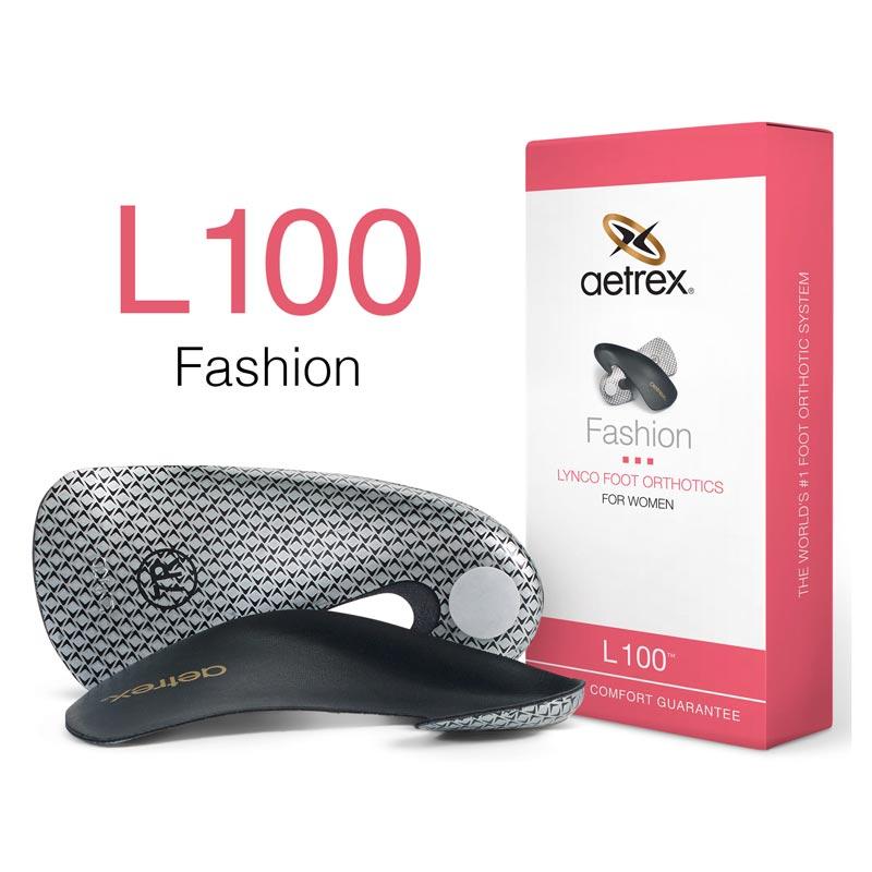 Lynco By Aetrex L100 (Women's) Black 6 M