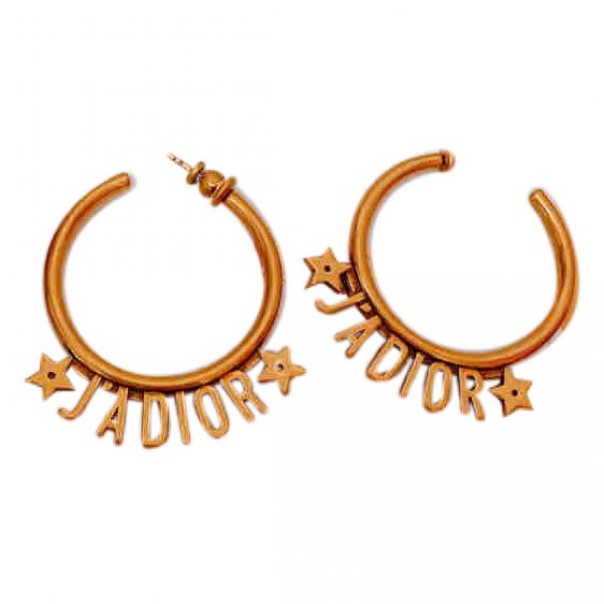Dior - Boucles doreilles Jadior pour femme en metal - dore