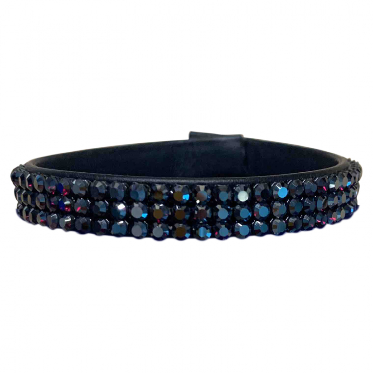 Swarovski - Bracelet   pour femme en cristal - noir