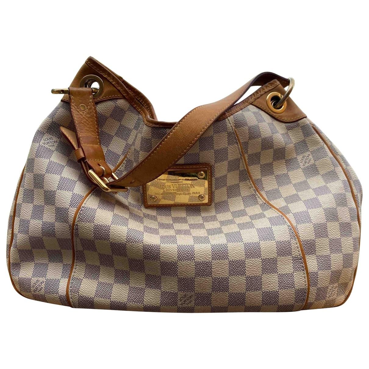 Louis Vuitton Galliera White Cloth handbag for Women \N