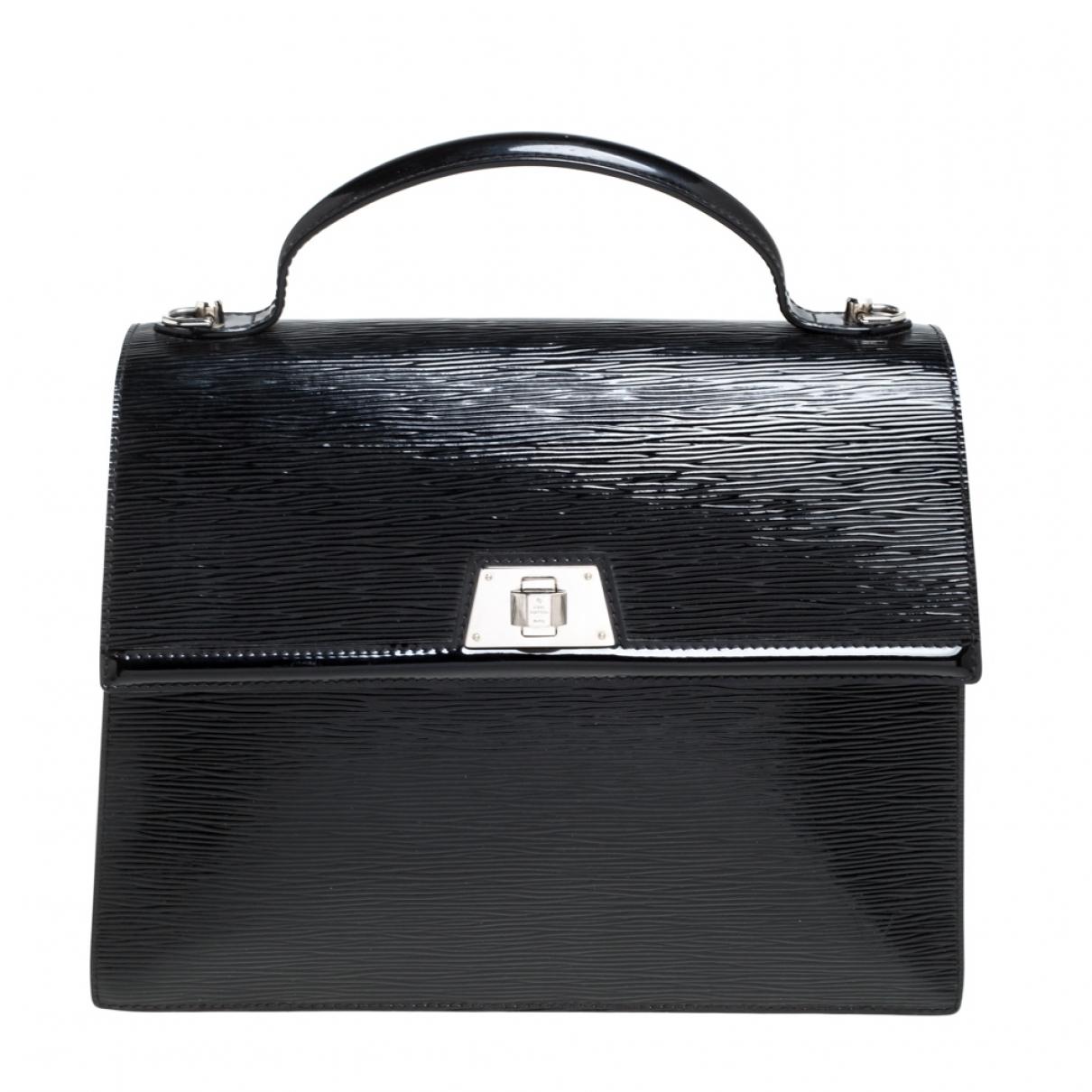 Louis Vuitton - Sac a main Sevigne pour femme en laine - noir