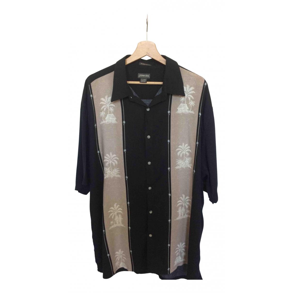 - Chemises   pour homme en autre - noir