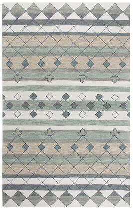 RESRS925A33370810 Resonant Medallion Area Rug Size 8' X 10'  in