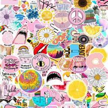 103pcs Mixed Pattern Waterproof Sticker