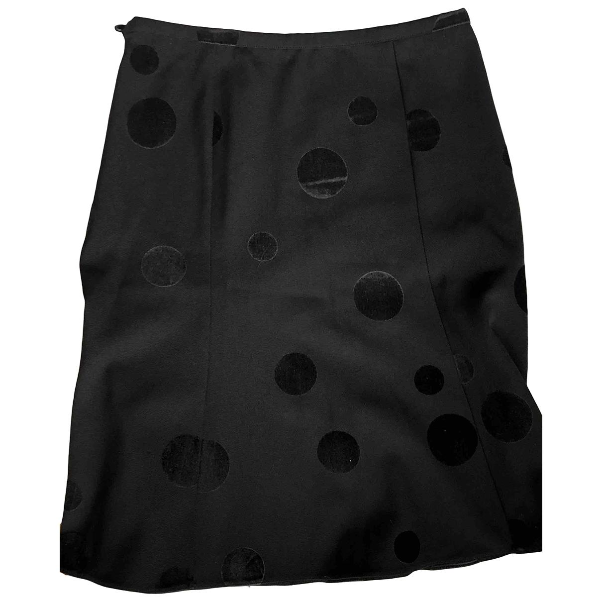 Emporio Armani - Jupe   pour femme en velours - noir