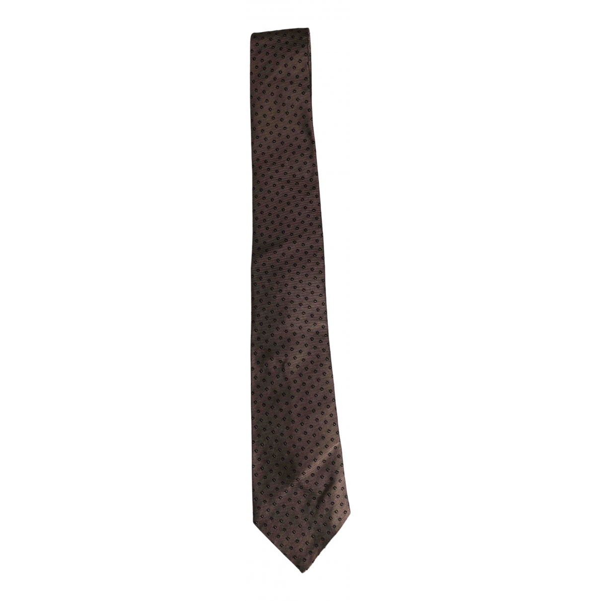 Bottega Veneta N Brown Silk Ties for Men N