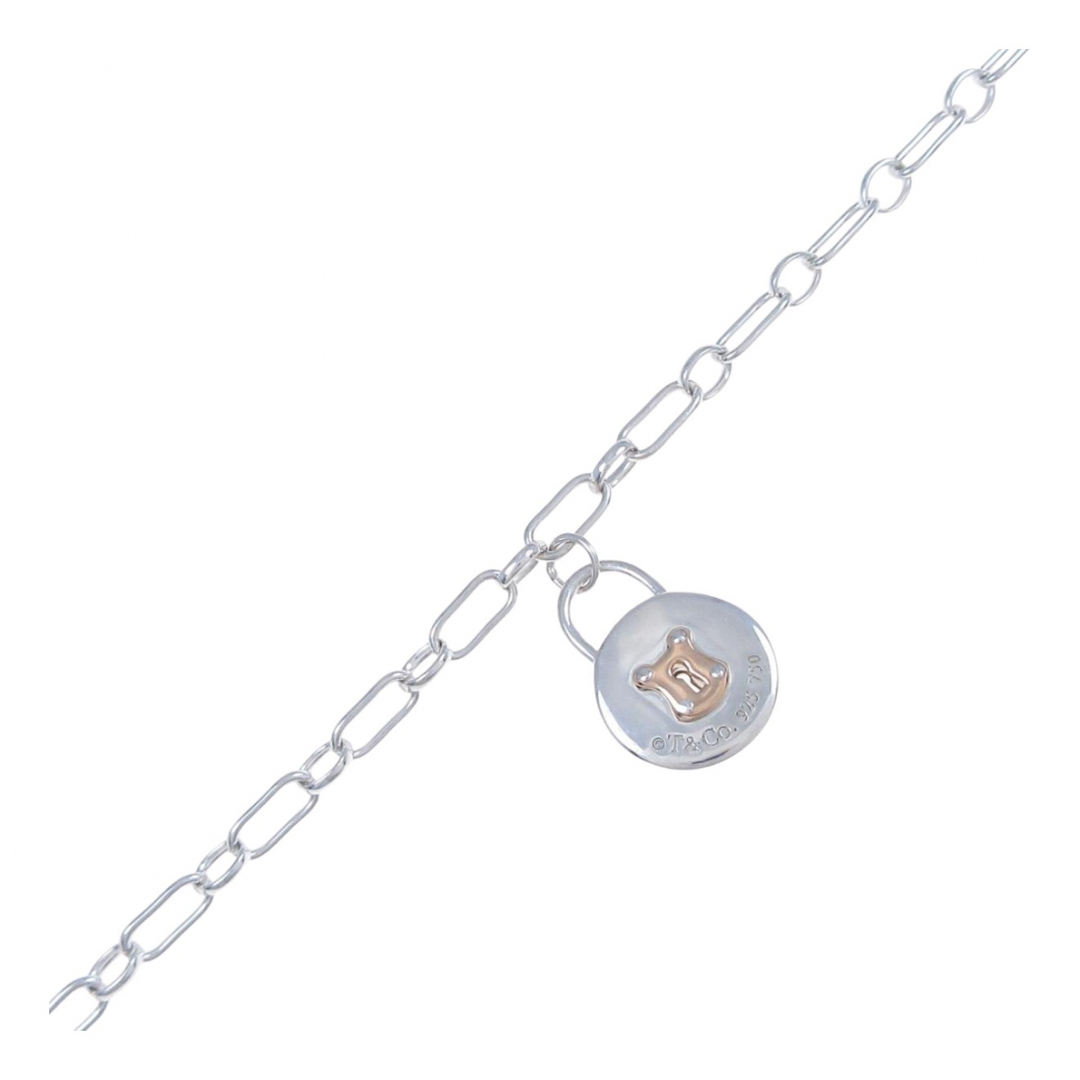Tiffany & Co - Bracelet   pour femme en or rose - argente