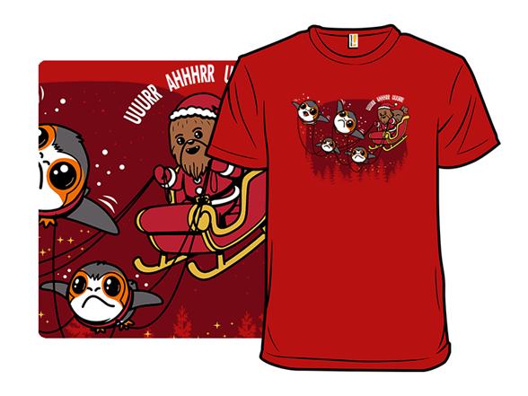 Santa Wookie T Shirt