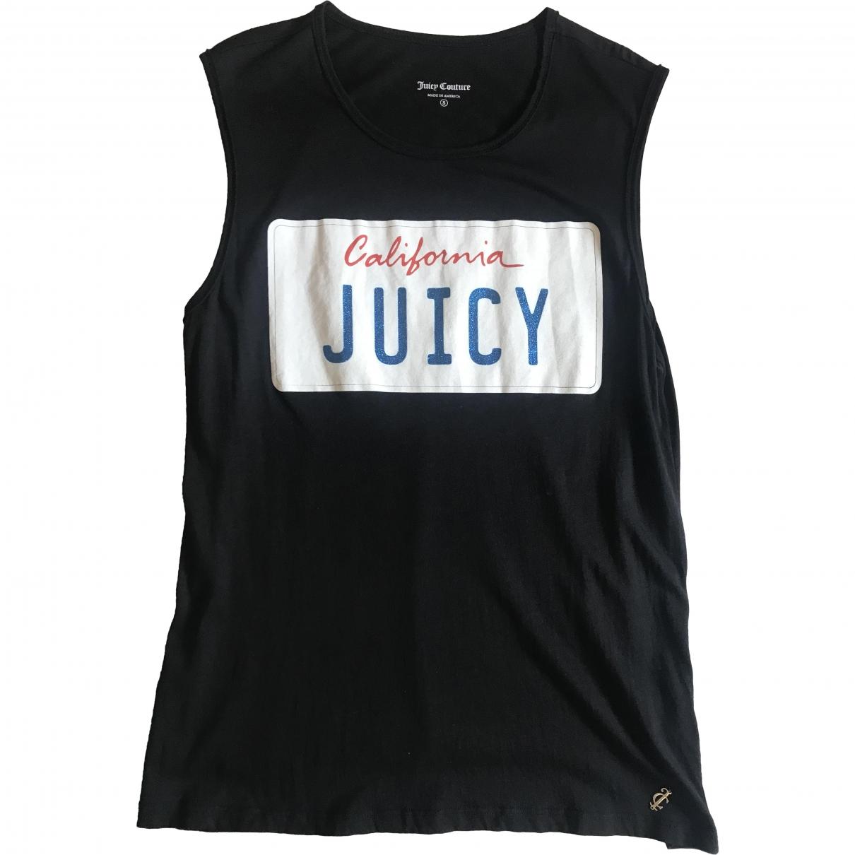 Juicy Couture \N Top in  Schwarz Baumwolle