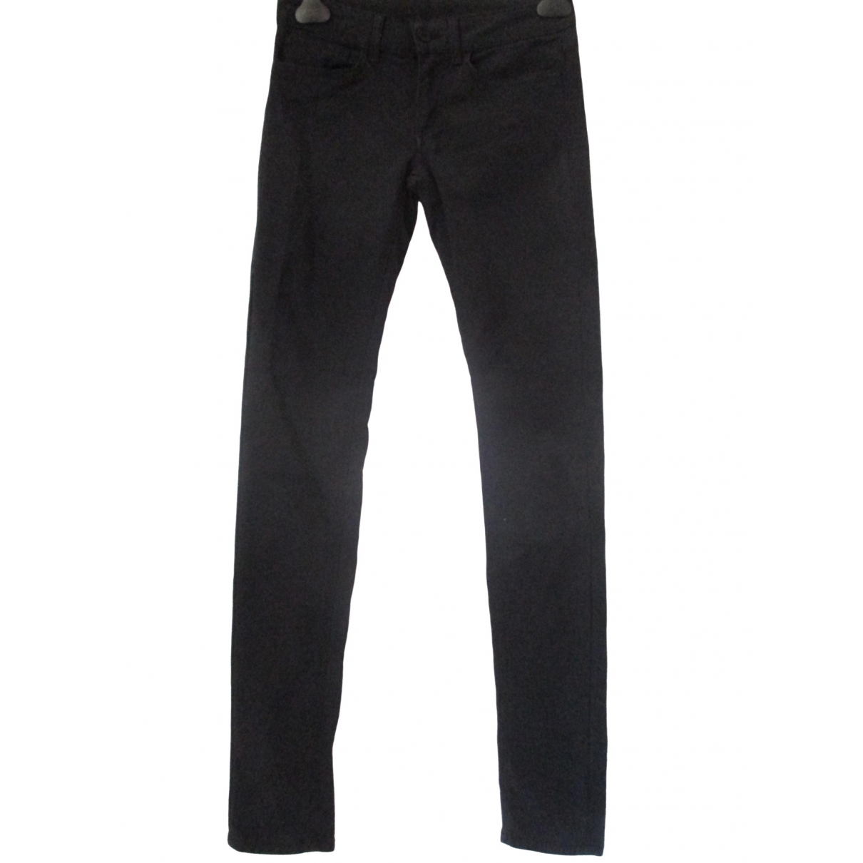 Dondup \N Black Cotton Trousers for Women 40 IT