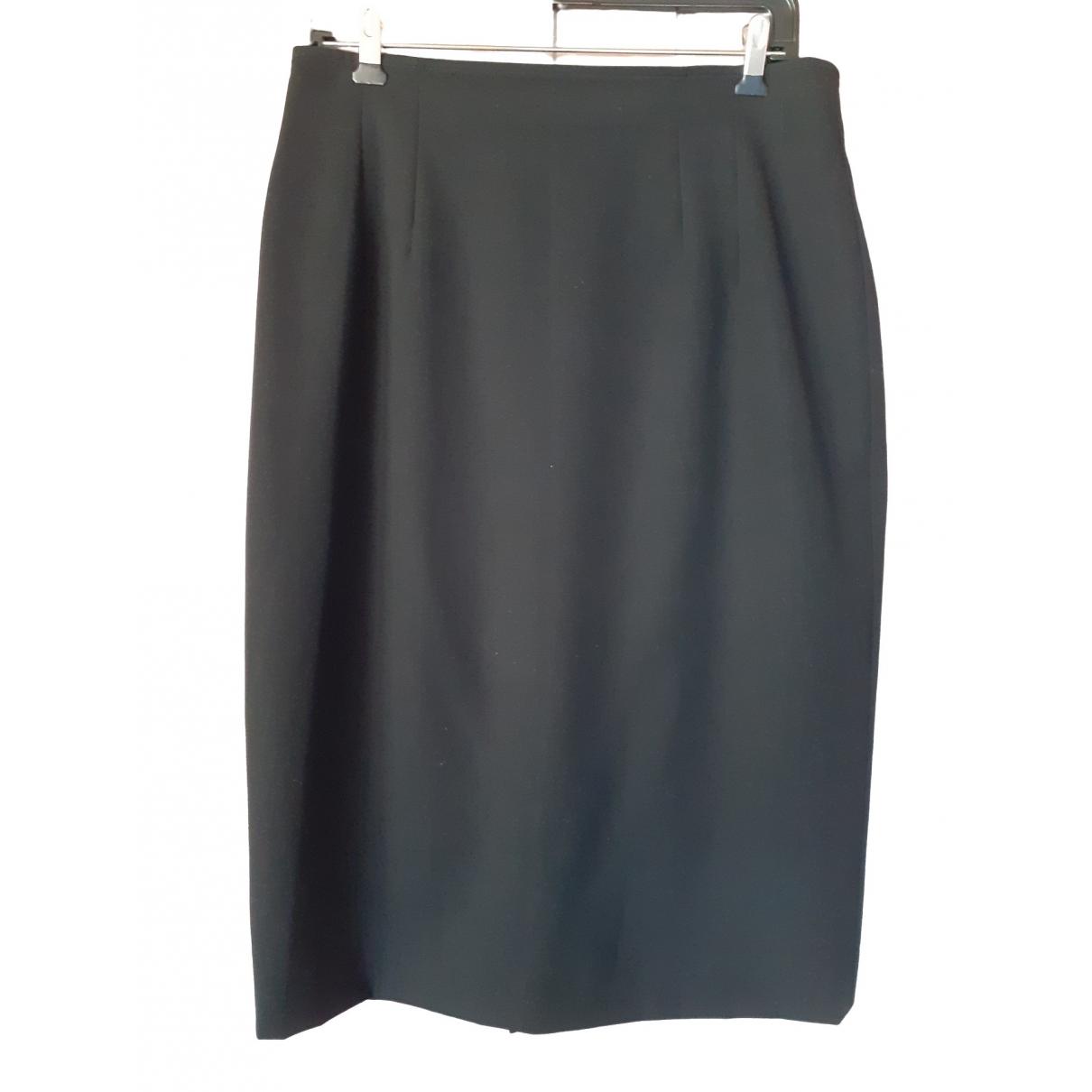 Gianfranco Ferre - Jupe   pour femme en coton - noir