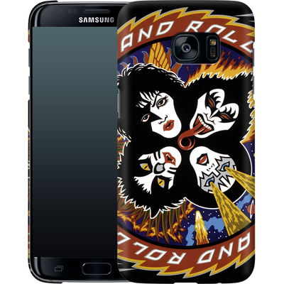 Samsung Galaxy S7 Edge Smartphone Huelle - Rock And Roll Over von KISS®