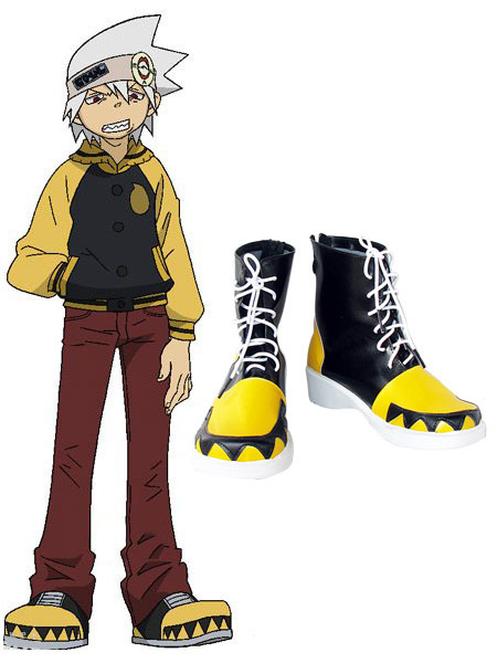 Milanoo Soul Eater Halloween Cosplay Shoes Halloween