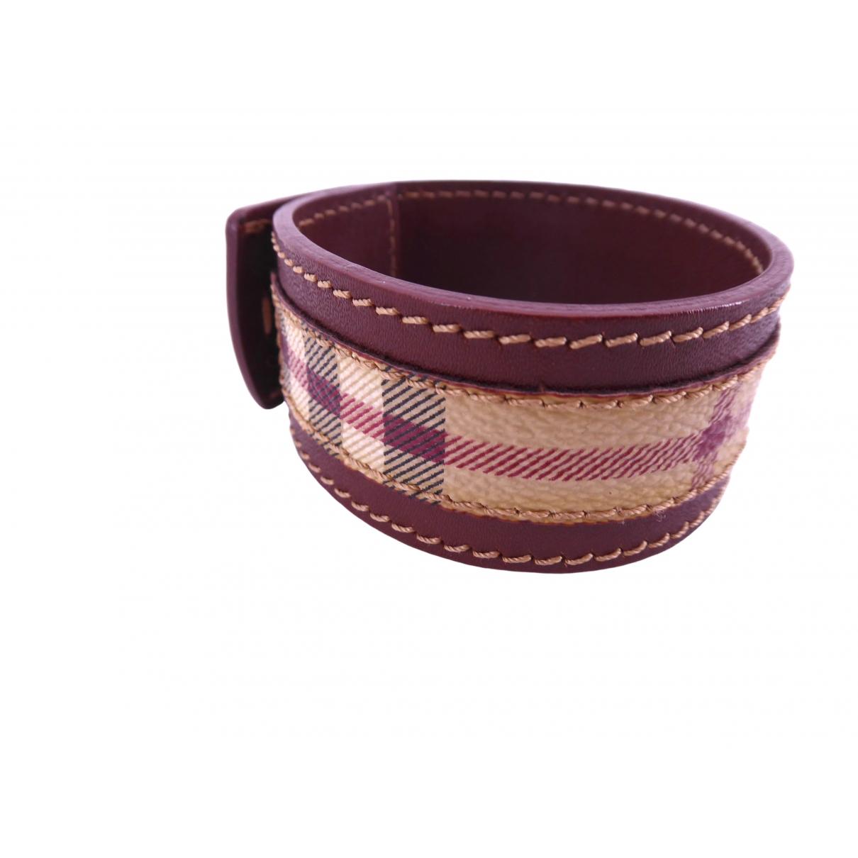 Burberry - Bracelet   pour femme en cuir