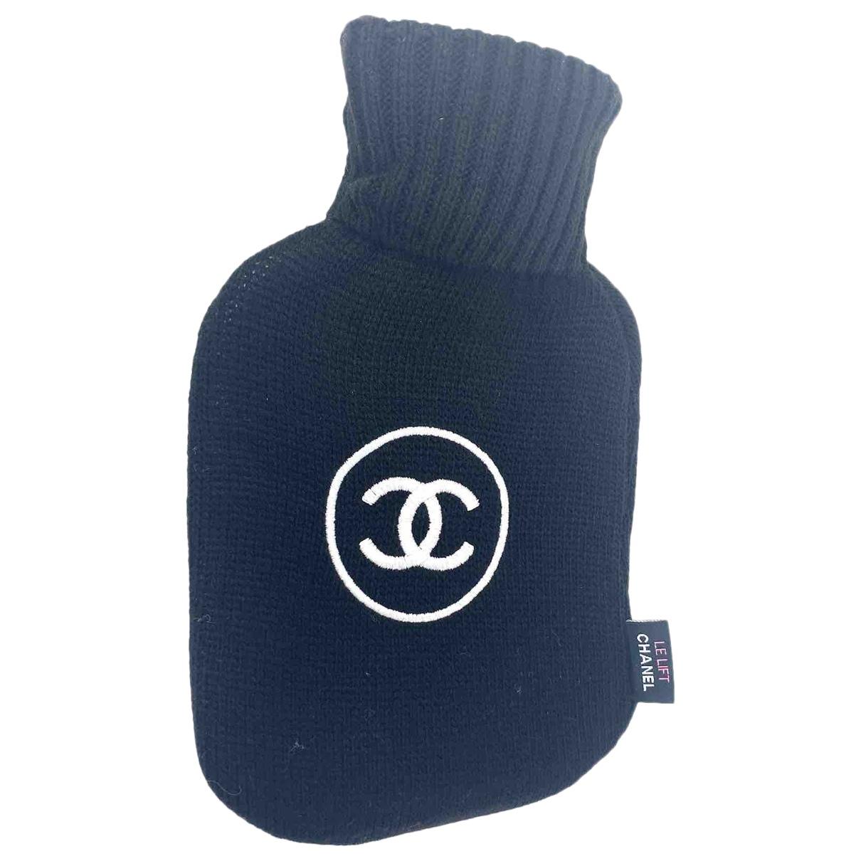 Chanel - Objets & Deco   pour lifestyle en coton - noir