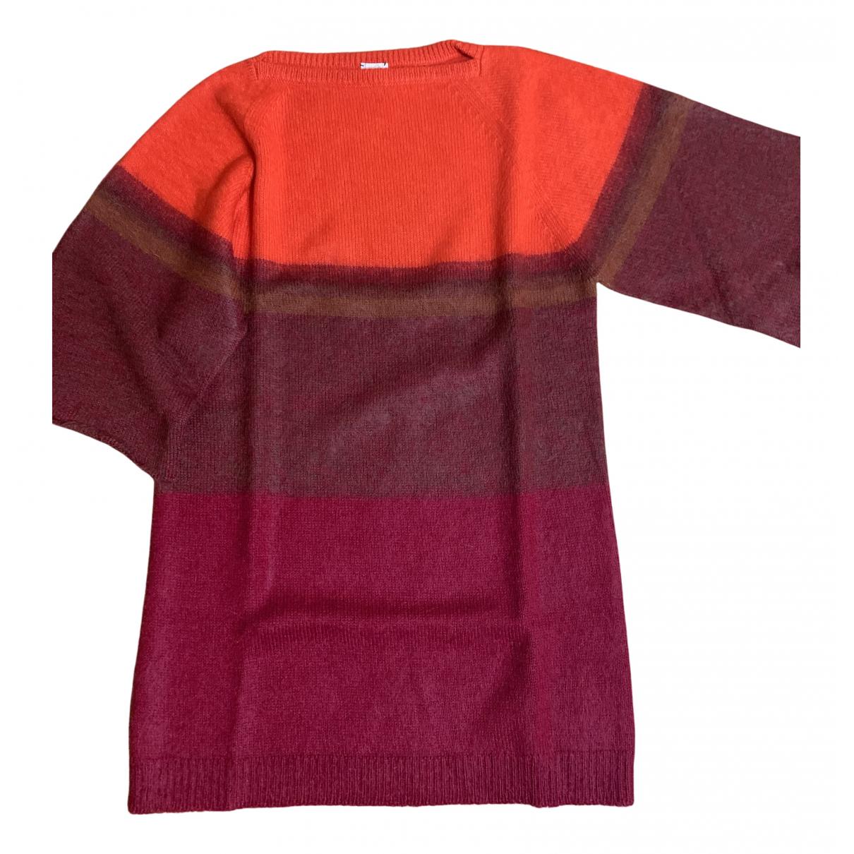Hermes - Robe   pour femme en laine - multicolore