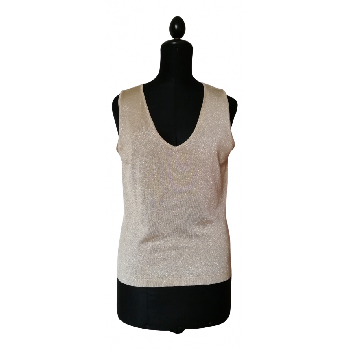 Non Signé / Unsigned N Gold Knitwear for Women 48 IT