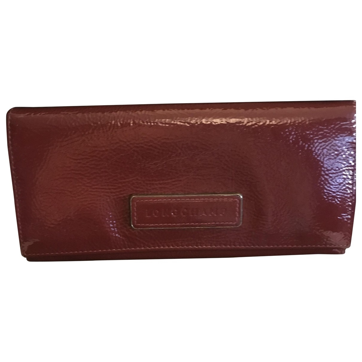 Longchamp \N Red Leather wallet for Women \N