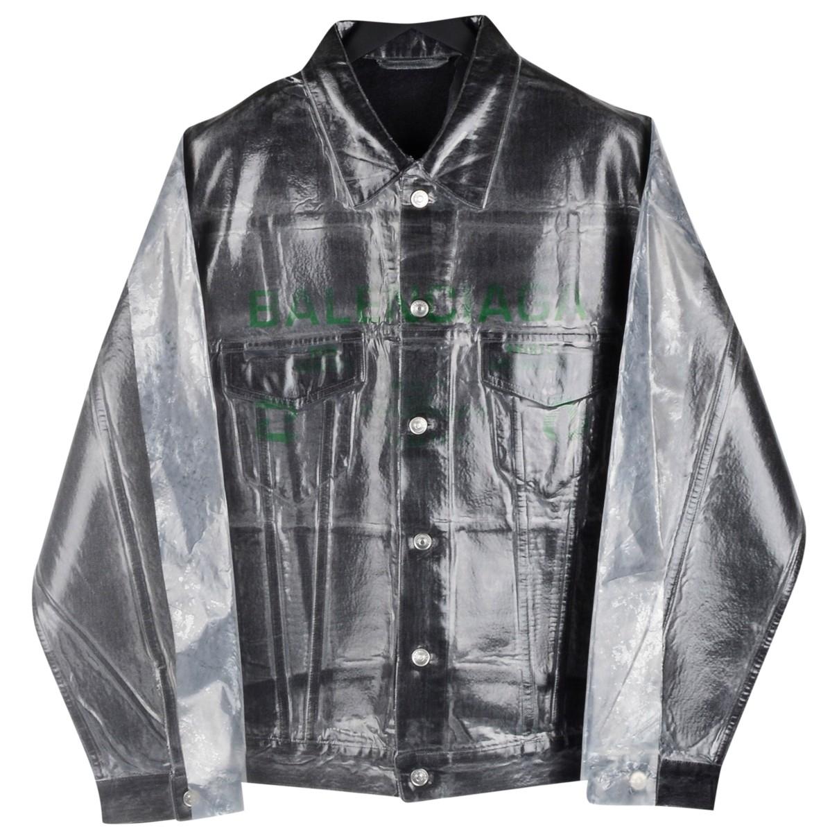 Balenciaga \N Grey Cotton jacket  for Men L International